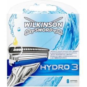 Wilkinson Hydro3 Кассеты, 8шт