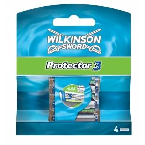 Wilkinson Protector3 Кассеты, 4шт