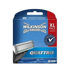Wilkinson Quattro Plus Кассеты, 6шт