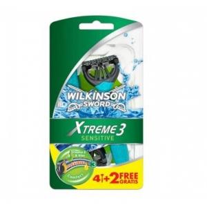 Wilkinson Станок Одноразовый Extreme3 Sens пакет, 6шт