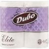 Диво Elite Бумага туалетная 3-х слойная белая 4шт