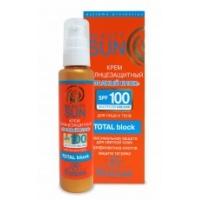 Флоресан Beauty Sun Загар Ф-285 Крем-полный блок солнцезащитный SPF-100 для лица и тела 75мл