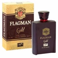 Flagman Gold (Флагман Голд) edt, 100ml мужская туалетная вода ART parfum,