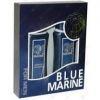 11 BLUE MARINE Набор для мужчин шампунь 250ml гель для душа 250ml