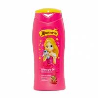 Принцесса Шампунь для волос 2в1 Калинка - Малинка, 400мл