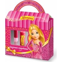 Принцесса Подарочный набор №1 Сказочное очарование бальзам для губ   блеск для губ