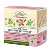 Зеленая аптека Крем для лица интенсивный лифтинг, 50мл