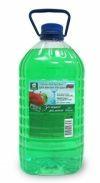 """Флоресан  Гель-бальзам для мытья посуды """"Зеленое яблоко""""  4л"""