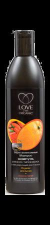 ORGANIC SHOP LOVE 2MIX шампунь для всех типов, 360мл /12шт в коробке