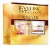 Eveline Argan Oil Набор дневной Крем против морщин 50мл   Крем для контура глаз 15мл   маска для лица, шеи и декольте 7мл