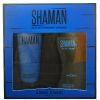 Shaman Набор для мужчин edt, 100ml   жидкое мыло для душа, 100ml коробка картон Arno Sorel